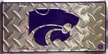 KANSAS STATE COLLEGE LICENSE PLATE