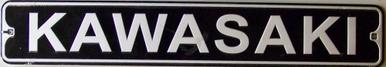 KAWASAKI MOTORCYCLE SIGN