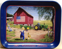 Photo of AMERICAN DREAM FARM,AE107 BEAUTIFUL COLORS ON THE METAL TRAY