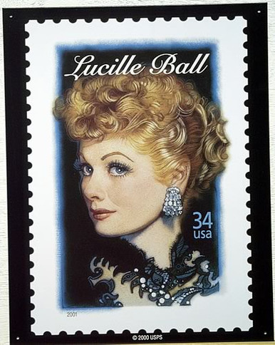 LUCY 34 CENT STAMP SIGN