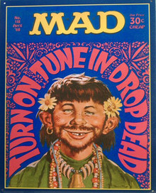 MAD MAGAZINE TUNE IN SIGN