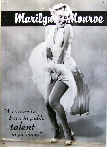 MARILYN TALENT SIGN