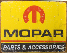 MOPAR LOGO '64 - 71 SIGN