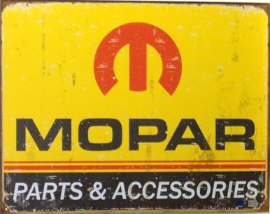MOPAR LOGO '64 - 71 SIGN