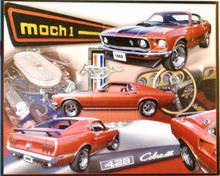 FORD MUSTANG MACH I (COBRA) SIGN