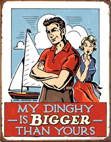 Photo of MY DINGY IS BIGGER