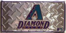 Photo of ARIZONA DIAMOND BACKS DIAMOND LICENSE PLATE