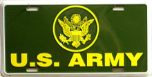 Photo of ARMY LICENSE PLATE