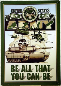 Photo of ARMY POSTER SIGN, FOR THOSE WHO HAVE SERVED OR ARE WANTING TOO SOMEDAY.