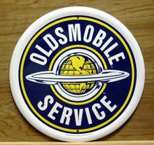 OLDSMOBILE SERVICE RND SIGN