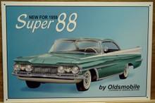 OLDSMOBILE SUPER 88 SIGN