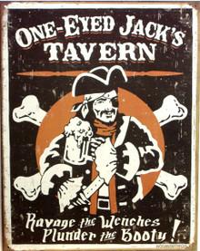 ONE EYED JACK'S TAVERN SIGN