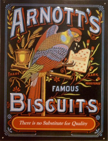 Photo of ARNOTT'S BISCUITS, A BRITISH CRACKER COMPANY SIGN