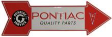 PONTIAC ARROW SIGN