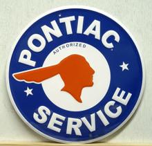 PONTIAC SERVICE SIGN
