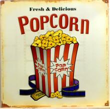 POP CORN W/MOVIE FILM SIGN