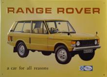 RANGE ROVER SIGN
