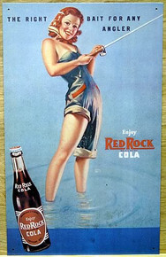 RED ROCK GIRL FISHING SIGN