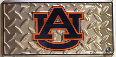 Photo of AUBURN TIGERS COLLEGE LICENSE PLATE FOR THE CAR, TRUCK OR WALL