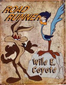 ROAD RUNNER & WILE E. SIGN