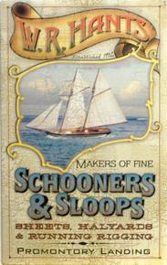 SCHOONERS & SLOOPS SIGN
