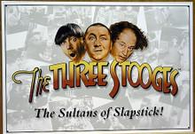 STOOGES SULTANS OF  SLAPSTIK SIGN