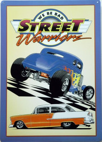 STREET WARRIORS RACING SIGN