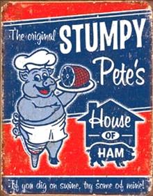 STUMPY PETE'S HAM SIGN