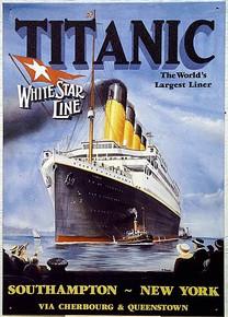 TITANIC.. FUSSEY SIGN