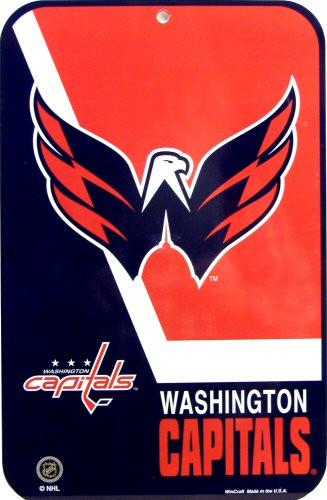 WASHINGTON CAPITALS HOCKEY SIGN
