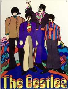 Photo of BEATLES YELLOW SUBMARINE GRAPHICS AND COLOR TRUE TO THE MOVIE
