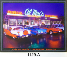 "METAL SIGN 12 1/2"" W X 16"" H WITH HOLES IN EACH CORNER FOR EASY MOUNTING  COLORFUL CLASSIC MOTORCYCLES SIGN WITH GREAT DETAL"