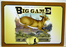 Photo of BIG GAME FEATURES A BUCK RUNNING, IT HAS RICH OUTDOOR COLORS AND GREAT GRAPHICS