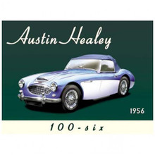 """THIS HEAVY METAL ENAMEL SIGN MEASURES 16"""" W X 12"""" H AND HAS HOLES IN EACH CORNER FOR EASY MOUNTING."""