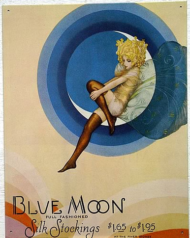 Photo of BLUE MOON FAIRY STOCKINGS SIGN
