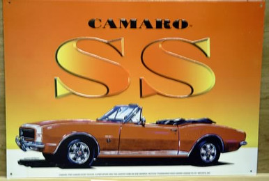 Photo of CAMARO SS CONVERTIBLE , GREAT COLOR AND GRAPHICS