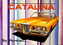 Photo of PONTIAC CATALINA THIS IS THE LAST ONE, THIS SIGN HAS BEEN OUT OF PRINT FOR MANY YEARS NOW