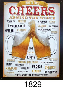 Photo of CHEERS AROUND THE WORLD SIGN, COLORFUL CHEERS FROM DIFFERENT COUNTRIES AROUND THE WORLD SIGN