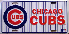 Photo of CHICAGO CUBS BASEBALL LICENSE PLATE