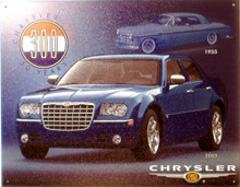 """Photo of CHRYSLER 300 """"50th ANNIVERSARY"""" SIGN RICH COLORS AND GRAPHICS"""