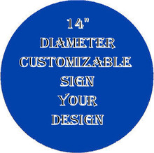 EASILY DESIGN YOUR OWN SIGN, CHOSE BORDER COLOR, CENTER COLOR, TYPE OF FONT, COLOR OF FONT, THEN WHAT YOU WANT ON YOUR SIGN (LINE BY LINE) HORIZONTAL UP TO 10 LINES (ANY LINES LARGER PRINT?)  WITHIN A FEW DAYS YOU WILL HAVE A SAMPLE HOW YOUR SIGN WILL LOOK FOR YOUR APPROVAL.  IF YOU APPROVE YOUR ORDER WILL BE MADE FOR YOU.