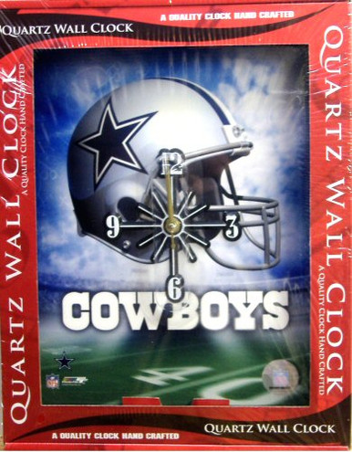 Photo of DALLAS COWBOYS CLOCK GREAT COLORS AND GRAPHICS,ONLY ONE LEFT!