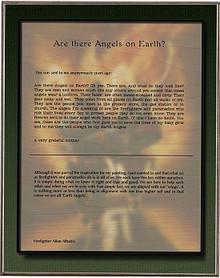 EARTH ANGELS, ARTIST STATEMENT  BIRCH WOOD PRINT S/O