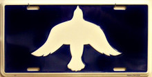 Photo of DOVE LICENSE PLATE