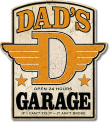 """THIS HIGH QUALITY DIE CUT SHAPED, WEATHERED LOOK, METAL SIGN MEASURES,  20 1/2""""  X  23""""   THIS SIGN IS A S/O SPECIAL ORDER SIGN THAT TAKES UP TO SIX WEEKS TO SHIP."""