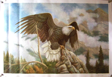 Photo of EAGLE SIZED OIL PAINTING
