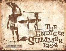 Photo of ENDLESS SUMMER RETRO 1964 HAS AN OLD TIME LOOK AND IS IN SHADES OF BROWN AND TAN