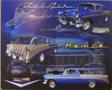 GREAT COLLAGE OF THE CHEVY BELAIR NOMAD