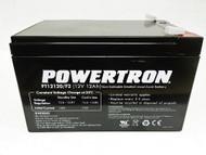POWERTRON 12V 12Ah SLA Battery with F2 Terminal