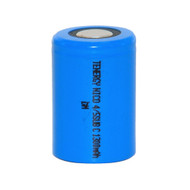Tenergy 1.2V 1300mAh NiCd 4/5 Sub C Flat Top Rechargeable Battery | Item # 20303